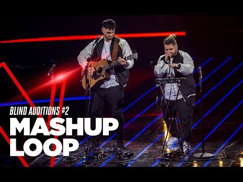 """Mashup Loop """"Taki Taki, Watch Out For This, Pump It Remix"""" - Blind Auditions #2 - TVOI 2019"""
