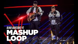 "Mashup Loop ""Taki Taki, Watch Out For This, Pump It Remix"" - Blind Auditions #2 - TVOI 2019"
