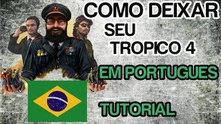 TUTORIAL - Como traduzir Tropico 4 para Português - Xbox 360 - HD