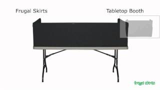 Frugal Skirts Tabletop Booth