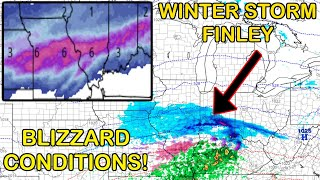 Major Winter Storm Finley to Bring Very Heavy Snow, Ice and Sleet for Millions This Week!