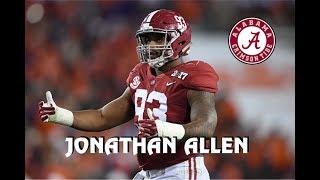 Jonathan Allen    Alabama Career Highlights    2013 - 2017