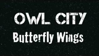 Owl City - Butterfly Wings