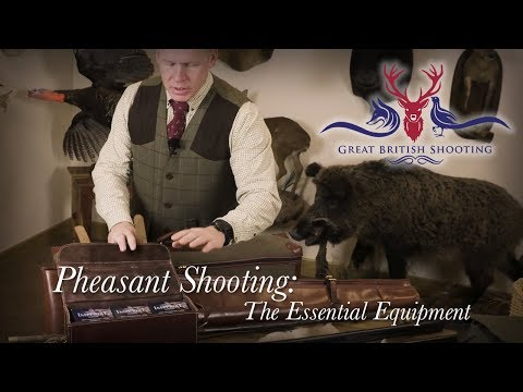 Pheasant Shooting Essential Equipment With Ian Harford
