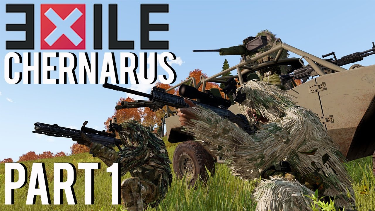 Arma 3 Exile Mod - Series 7 - Part 1 - The First Mission