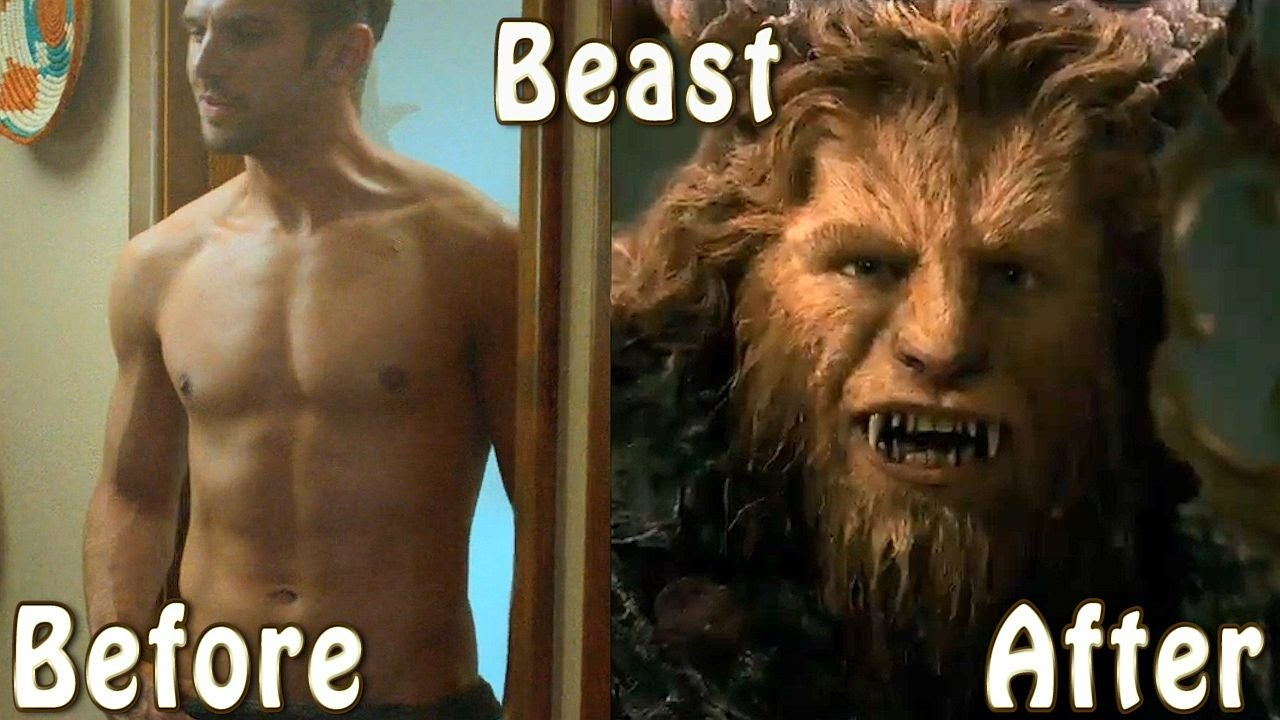 Beauty And The Beast Cast Before After