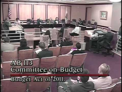 Senate Appropriations Committee 4/7/2011