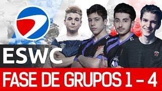 TORNEO DE LA ESWC PGW 2017 ¡¡ 15.000 EUROS EN PREMIOS !! | Grupos 1 a 4 | Clash Royale