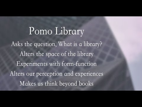 Pomo Library – Seattle Central Library