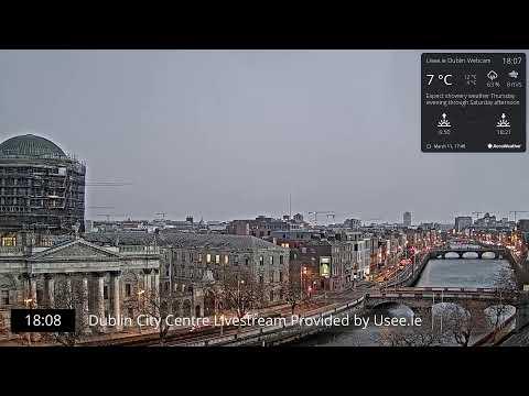 Dublin City Live Webcam - Usee.ie - Axis P1435-LE