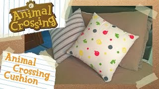 Animal Crossing Printed Cushion Diy Tutorial