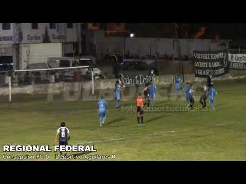 REGIONAL FEDERAL: Concepción y Deportivo Aguilares igualaron sin goles