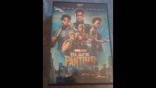 Black Panther DVD Unboxing