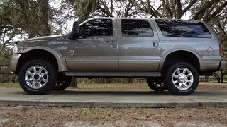 2003 Ford Excursion 4x4 For Sale. 7.3 Diesel, Eddie Bauer Loaded, low miles