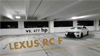 Lexus RC F 2016: Обзор и тест драйв