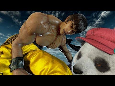 Aris Plays Tekken 7 - How Hard is this Law Combo? Practice Makes Perfect
