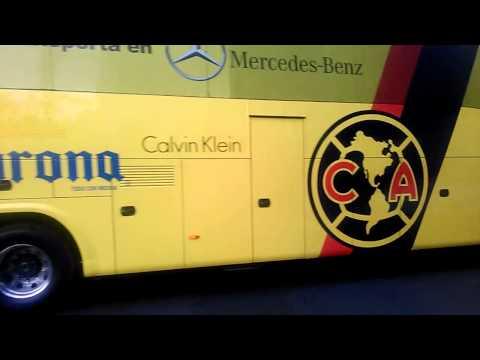 Autobús del club América