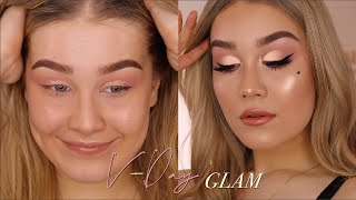Soft Valentine's Day Glam | Jenna Danielle Beauty