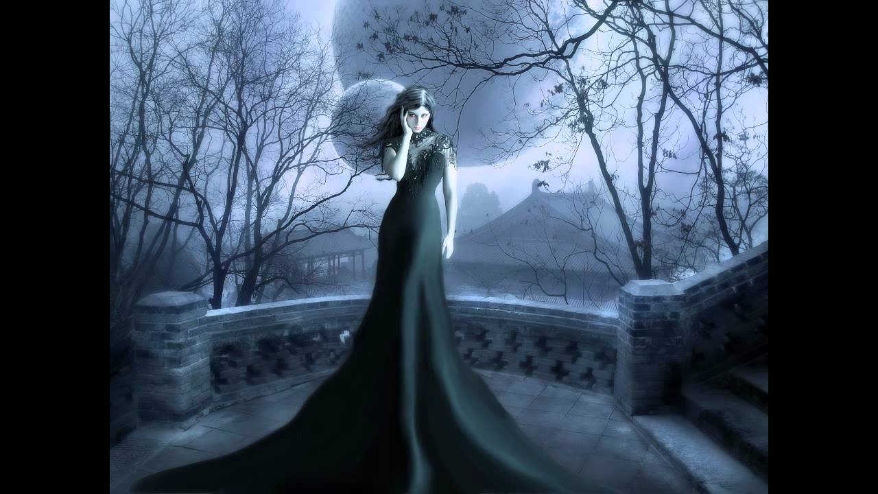 Beautiful Girl Black And White Wallpaper Two Steps From Hell White Witch Youtube