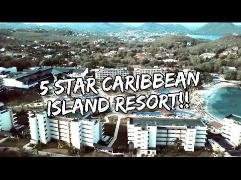 INCREDIBLE 5-STAR CARIBBEAN ISLAND RESORT (SAINT LUCIA)! | Vlog #156