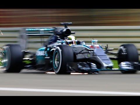F1 Turbo V6 - Mercedes Ferrari Renault Engine Exhaust Sound