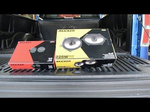 11-14 F150 Supercab Kicker Speaker Install