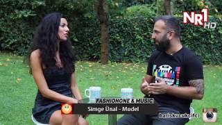 Simge Ünal Fashionone  & music Enis Barış Küçükçifçi NR1 tv