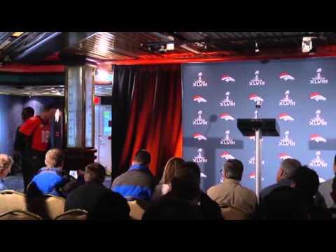 Peyton Talks 'ducks', Lynch Barely Speaks