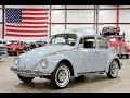 1968 VW Beetle Light Blue