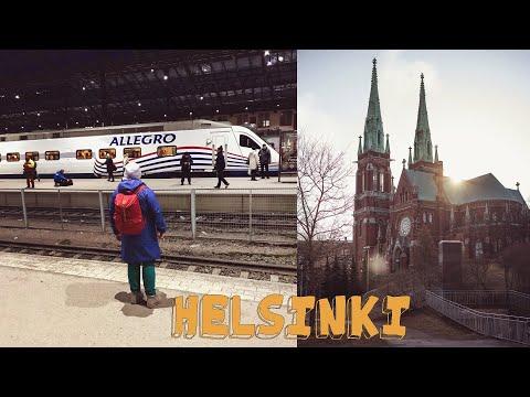 В ФИНЛЯНДИЮ НА 2 ДНЯ | ХЕЛЬСИНКИ | поезд ALLEGRO | книжный магазин | Vlog #4