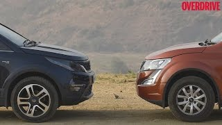 Tata Hexa vs Mahindra XUV500 - Comparative Review