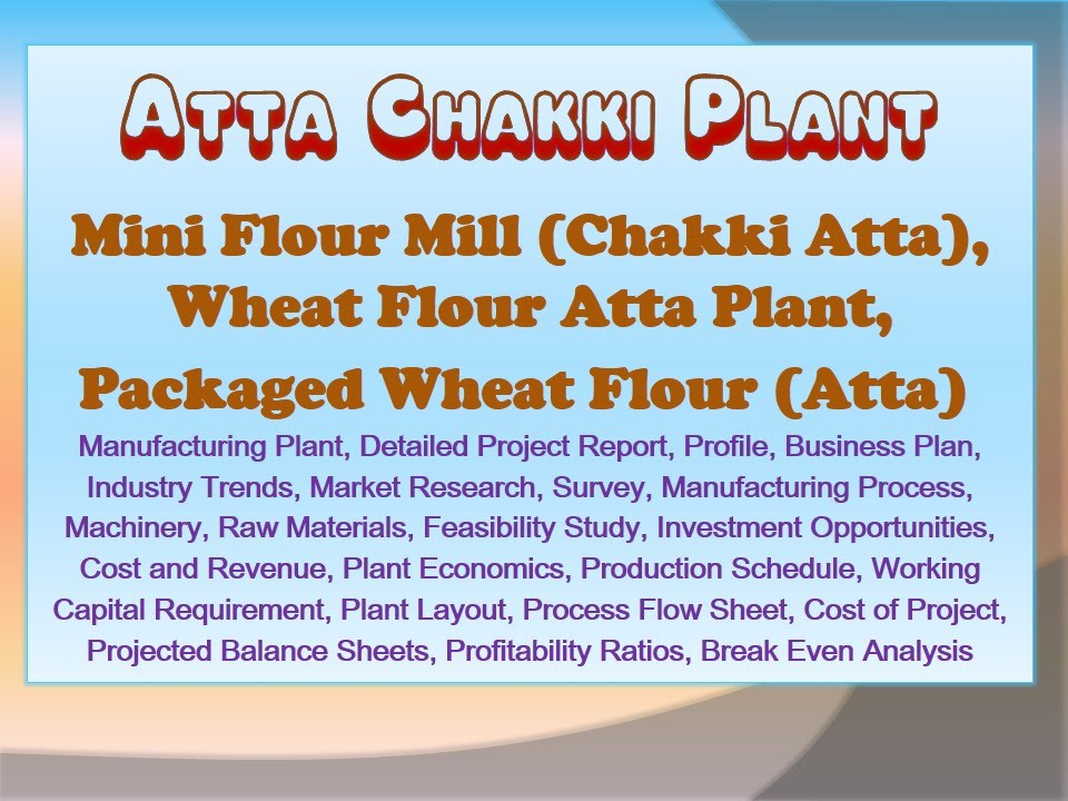 flour milling business plan
