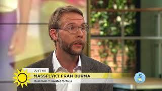 150.000 flyr Burma - FN frukat folkmord - Nyhetsmorgon (TV4)