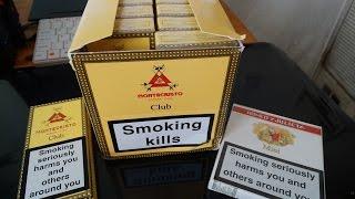 Montecristo & Romeo y Julieta Cuban Cigars - Cigarillos, 4K UHD