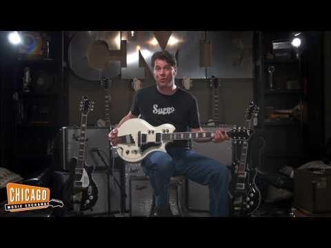 Supro Americana Series (1524EW Dual-Tone Ermine White) | CME Guitar Demo