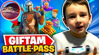 GIFTAM *BATTLE PASS* MLADJEM BRATU U FORTNITE!