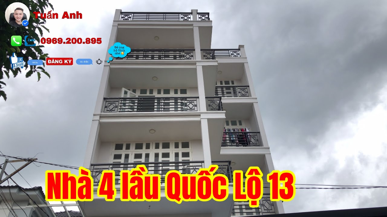 Bán Nhà Thủ Đức   Nhà 4 lầu mới ngang 7x22m  vị trí đắc địa giá hời @Bán Nhà Thành Phố Hồ Chí Minh