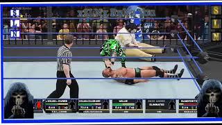 xSLNx vs Q8-Brock-Lesnar & ChitownLegend