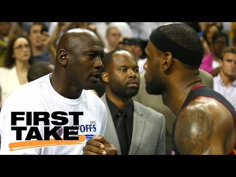 LeBron James replacing Michael Jordan as inspiration to young players? | First Take | ESPN