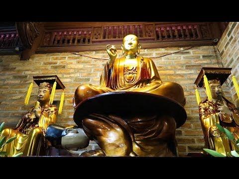 Phật Ngự Lưng Vua I Tượng Vua Sám Hối I Ngôi Chùa Lạ Giữa Hà Nội