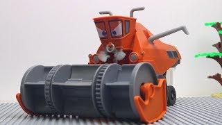 Tobot Robot Stop motion - Bumblebee Transformers Lego, Frank Disney Cars Color Changer Car Toys Kids