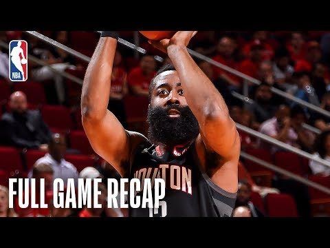 Sports Desk - Rockets beat Spurs, Harden scores 61