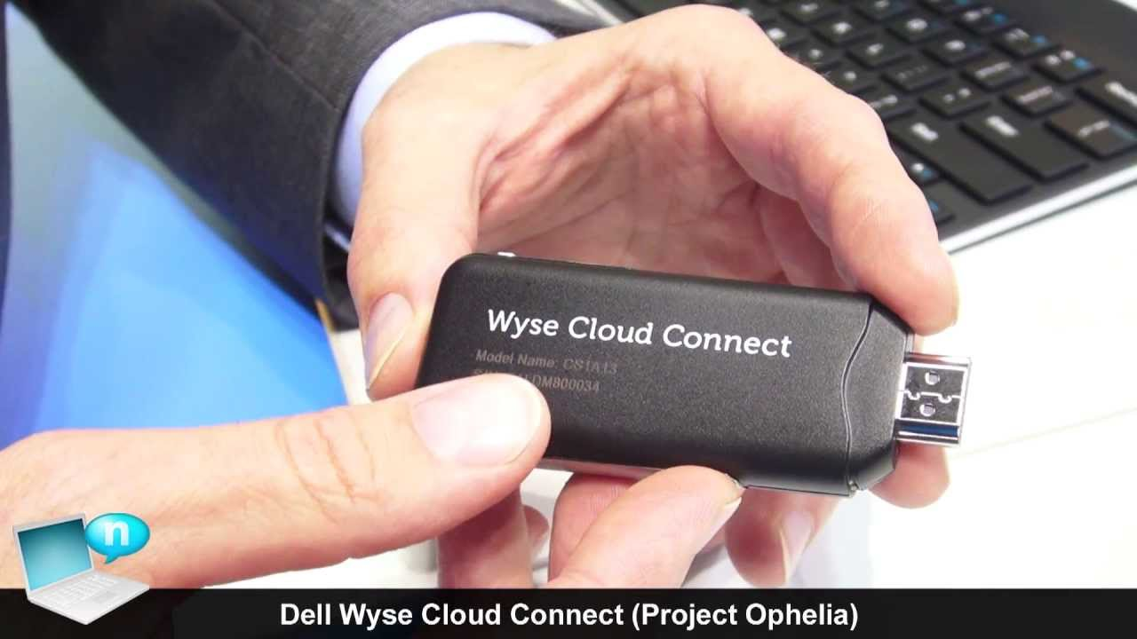 Here's how Dell's Wyse Cloud Client works (pocket-sized thin
