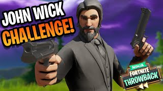 NO SNIPERS ALLOWED IN THIS CHALLENGE!! Throwback Fortnite