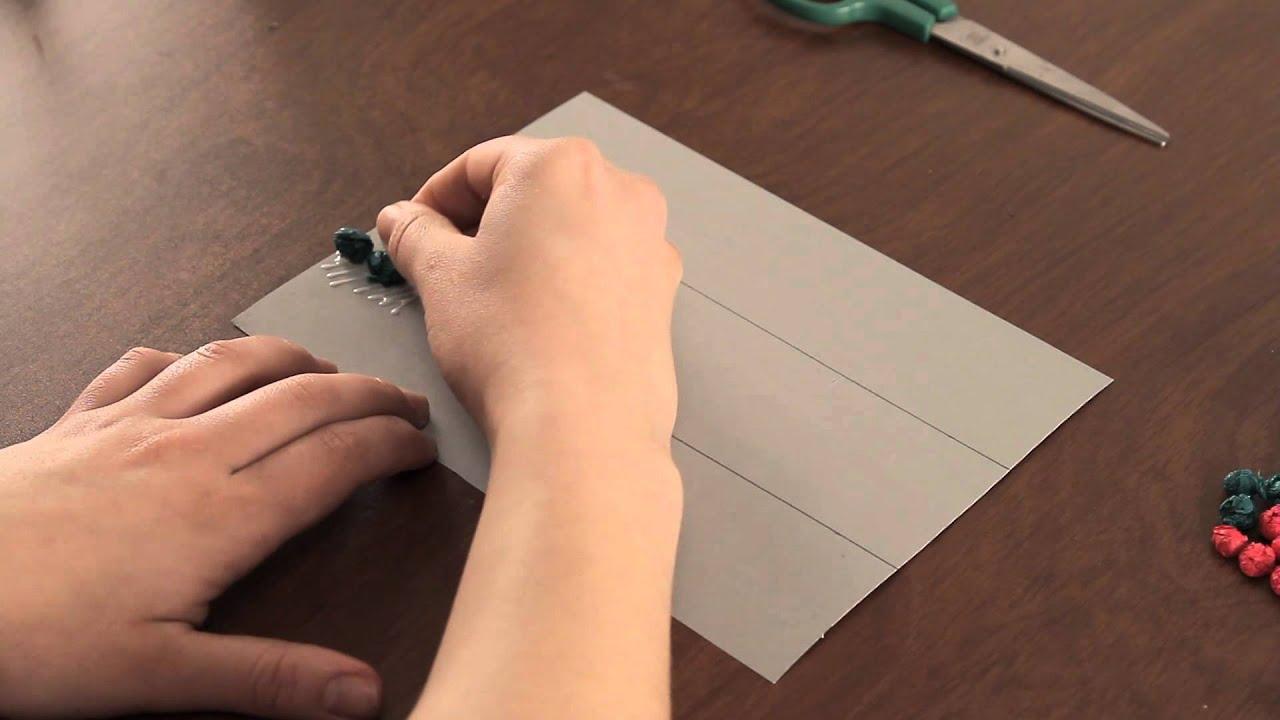 Como Hacer Una Bandera De Papel Tisu Proyectos De Arte En Papel