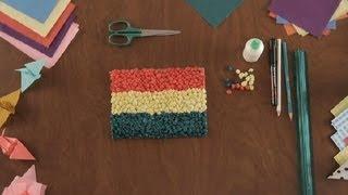 Como Hacer Una Bandera De Papel Tisu Proyectos De Arte En Papel Youtube