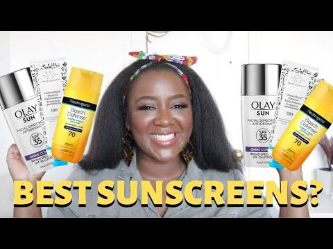 Sunscreen For Oily Skin + Best Sunscreen For Dark Skin