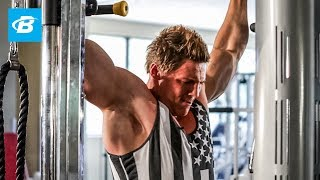 Steve Cook Back and Biceps Workout | Big Man on Campus