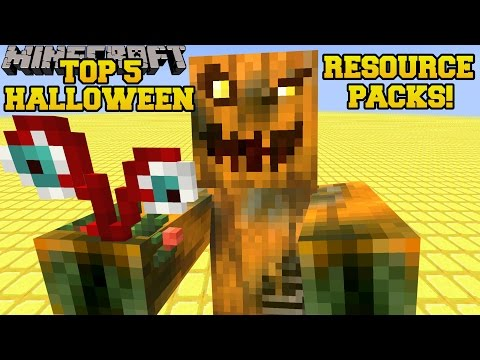 Minecraft: TOP 5 BEST HALLOWEEN RESOURCE PACKS