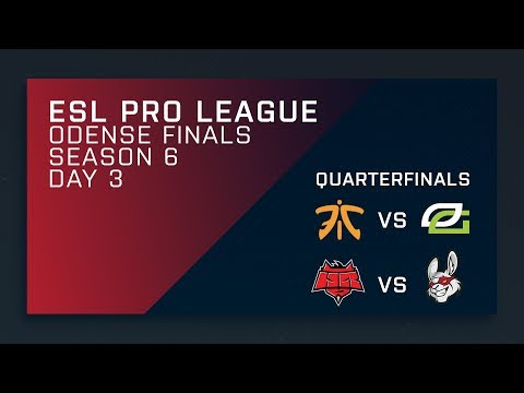 CS:GO - Quarterfinals - Fnatic vs. OpTic | Misfits vs. HellRaisers - ESL Pro League Season 6 Finals